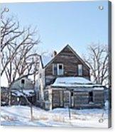 Eastern Montana Farmhouse Acrylic Print