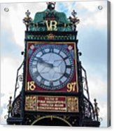 Eastgate Clock In Chester Acrylic Print