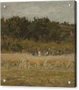 Eastman Johnson 1824 - 1906 Landscape Sketch Acrylic Print