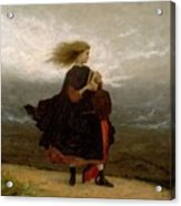 Eastman Johnson - The Girl I Left Behind Me Acrylic Print