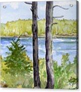 Eastport Maine Coastal Afternoon Acrylic Print