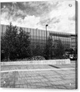 eastside millennium point building Birmingham UK Acrylic Print