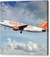 Easyjet Airbus A321-214 G-eztk Acrylic Print
