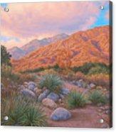 Eaton Canyon Sunset Acrylic Print