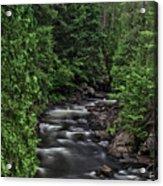 Eau Claire Gorge Colour Acrylic Print
