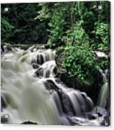 Eau Claire Gorge Water Fall Acrylic Print