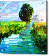 Ebb and Flow Acrylic Print