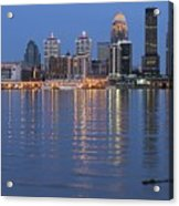 Ebb And Flow Of Louisville Acrylic Print