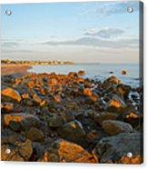 Ebb Tide On Cape Cod Bay Acrylic Print
