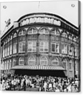 Ebbets Field, Brooklyn, Nyc Acrylic Print by Photo Researchers