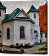 Ebenezer United Methodist Church Acrylic Print