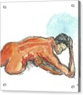 Ebony Figure 1 Acrylic Print
