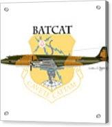 Ec-121r Batcatcavete Acrylic Print
