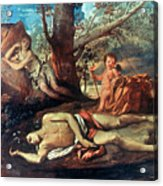 Echo And Narcissus Acrylic Print