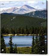 Echo Lake Colorado Acrylic Print