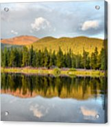Echo Lake Painterly 1 Acrylic Print