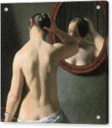 Eckersberg: Nude, C1837 Acrylic Print