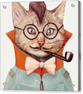 Eclectic Cat Acrylic Print