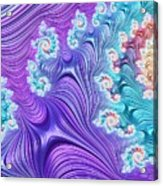 Eclectic Ripples Acrylic Print
