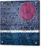 Eclipse Original Painting Acrylic Print