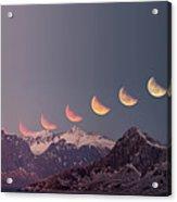 Eclipse Panorama Acrylic Print