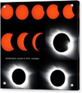 Eclipse Sequence Acrylic Print