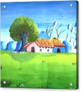 Eco Friendly Environment 1 Acrylic Print