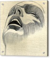 Meditating Acrylic Print