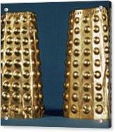 Ecuador: Gold Cuffs Acrylic Print