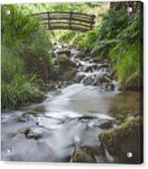 Edale Bridge. Acrylic Print