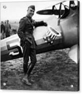Eddie Rickenbacker - Ww1 American Air Ace Acrylic Print