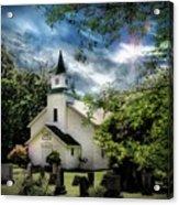 Eden Church Acrylic Print