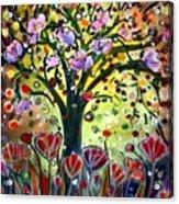Eden Garden Acrylic Print
