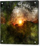 Edens Sunrise Acrylic Print