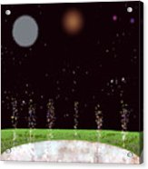 Edentia Sea Of Glass Acrylic Print