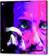 Edgar Allan Poe The Eyes Of The Ravens 20160430 V3 M88 Acrylic Print