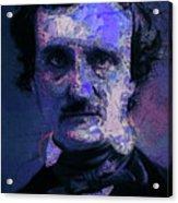 Edgar Allan Poe, Artsy 1 Acrylic Print