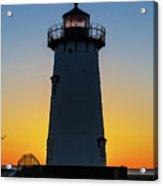 Edgartown Harbor Light Sunrise IIi Acrylic Print