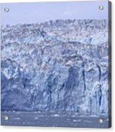 Edge Of A Huge Glacier In Alaska Acrylic Print