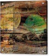 Edge Of The World Acrylic Print