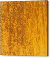 Edge To Edge Rust Acrylic Print