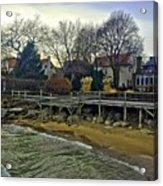 Edgemere Crt Docks Acrylic Print