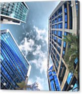Edificios De Caracas Acrylic Print