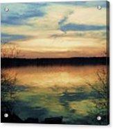 Edinboro Lake Nocturne No.3 Acrylic Print