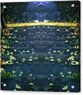 Edinburgh - Stairs Ghost Acrylic Print