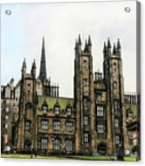 Edinburgh Architecture 3 Acrylic Print