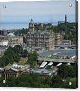 Edinburgh Castle View #3 Acrylic Print
