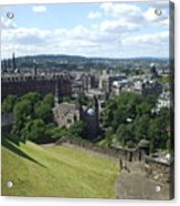 Edinburgh Castle View #6 Acrylic Print