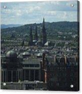 Edinburgh Castle View #9 Acrylic Print