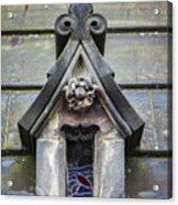 Edinburgh Cathedral Window Acrylic Print